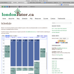 londontutor-schedule
